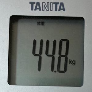 ダイエット記録:続ける!叶える!~現在44.4kg