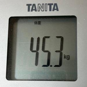 理想の身体目指して!!~現在45.3kg