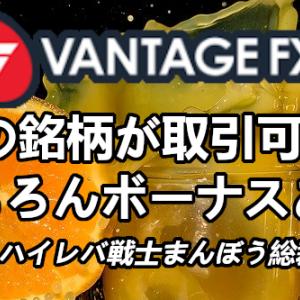 【海外FX】VANTAGE FX(ヴァンテージFX)のまんぼう総裁限定100%入金ボーナスについて【先着〇〇〇名限定】