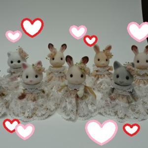 小倉佳奈先生のワークショップ  「お花のプリンセスドレスを作ろう」