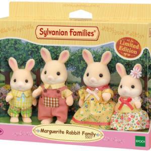 シルバニア35周年記念限定版 Marguerite Rabbit Family についてのメモ