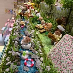 ②夏のジオラマ シルバニアファミリー森のお家 with sweets ららぽーと立川立飛店さん
