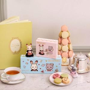 ラデュレ×シルバニアコラボ企画・限定のマカロンや、お人形&小物セットが10/9から発売!