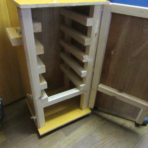 木製燻製器作成