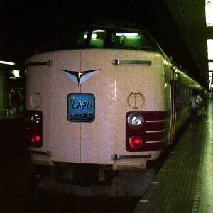 眼球崩壊、ポケットカメラ写真 1981年頃の東京の電車