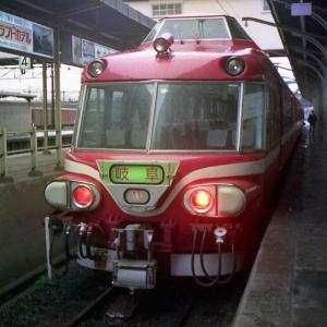 感染注意!ハーフカメラ汚写真 たぶん1980年代の豊橋の電車