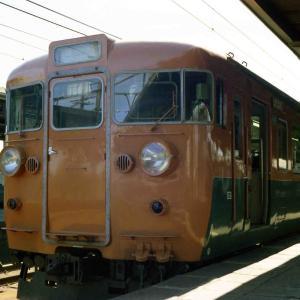 出し惜しみオヤジカメラ汚写真 おそらく1975年頃の国鉄湘南電車