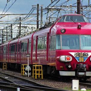 1999年5~9月期の鉄道汚写真 燃える名鉄電車・白帯パノラマカー