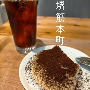 堺筋本町「Sun9 Coffee」大手チェーン店並の席数で電源有の本格カフェ