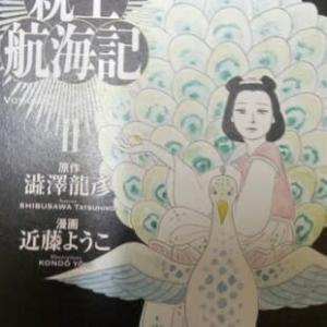 『高岳親王航海記』原作澁澤龍彦・漫画近藤ようこ 2
