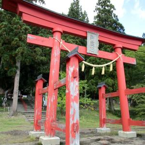 思い立って御座石神社へ