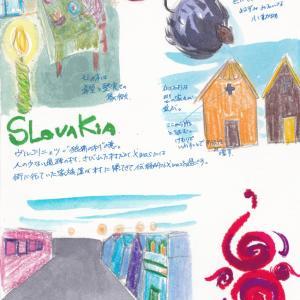 世界遺産を秒速スケッチ:スロバキア ヴルコリニェツの暮らし