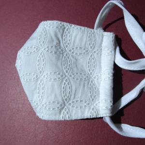 保護色な白いマスク 作ってみた