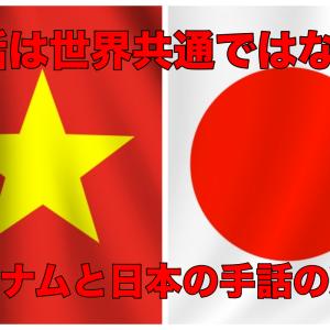知ってた?世界の手話は共通ではない!日本手話とベトナム手話の違いその3 動画あり なぜ世界共通だと思うの?