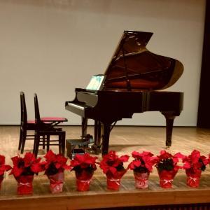 ピアノ教室の発表会