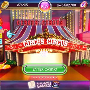myVEGASのスマホアプリゲーム Pop! Slotsに「CIRCUS CIRCUS」が登場!