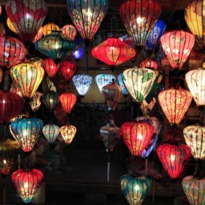 【ベトナム ホイアン】世界遺産の古都 ランタンの夜景が美しい街