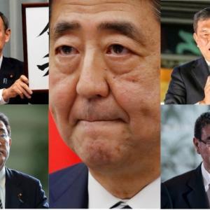 【安倍首相辞任表明】ポスト安倍は誰?有力候補を徹底検証!!