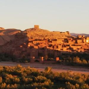 モロッコ アイト・ベン・ハッドゥ 映画のロケ地で有名(HISツアー8日間)