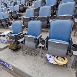 横浜スタジアムのSSトリプルシートで観戦してきました【快適シートでとても見やすい席】