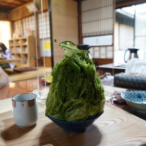 藤枝・真茶園のかき氷2021