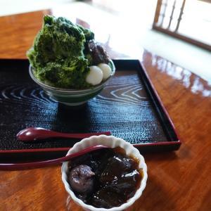 磐田・お茶のかねまつ 角打ち茶屋のかき氷2021