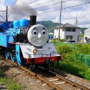 大井川鐵道・門出駅でトーマス号の通過を待つッッッ!