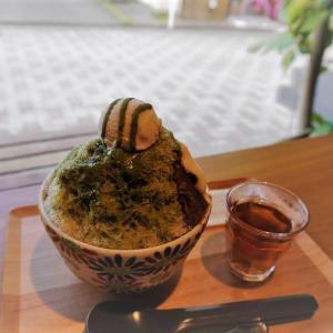 静岡・オーガニック抹茶スタンド CHA10 (チャトウ)のかき氷2021