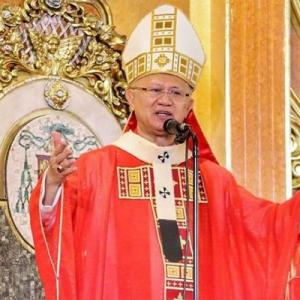 セブの人民に対して大司教が異例の訴えを行った