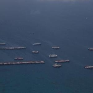 フィリピン政府は中国による領海内での危険行為を抗議した