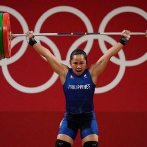 フィリピン人がオリンピックで史上初めての金メダルを獲得した