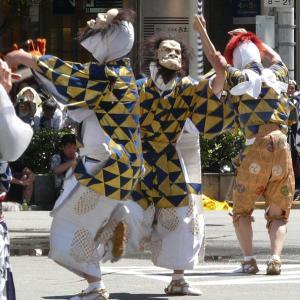 今日は、本来なら祇園祭巡行の予定でした・・・・・(2019年宵山の祇園祭 綾傘鉾 棒振り囃子)