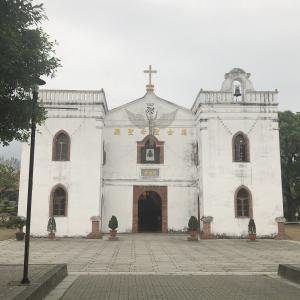 台湾最古の教会と豚足へ行って来ました!【 萬金聖母聖殿】
