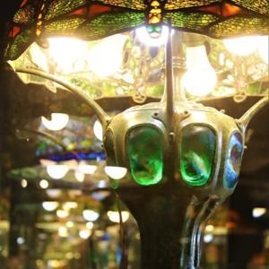 ティファニーランプ Tiffany Museum
