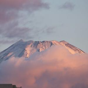 たまげた、ふっじさ~ん! Snow Covered Mt. Fuji