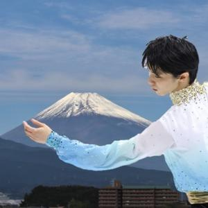 今日の富士山に結弦君をご招待 Mt.Fuji & Yuzu