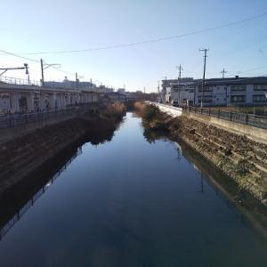 鏡状態の水面