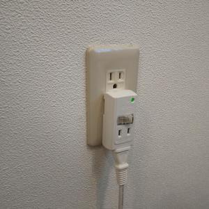 電源タップの破損
