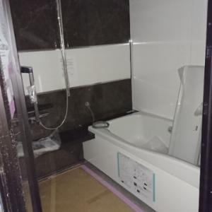 お風呂場 設置完了