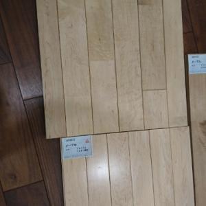 無垢材 床暖房対応フローリング