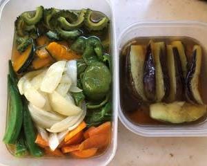 定番の夏野菜のおかず