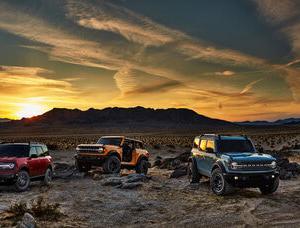 ドアや屋根を交換できる。冒険ゴコロ100%なクルマ・フォード「ブロンコ」
