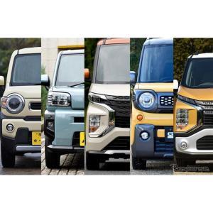 ハスラー、タフト、ジムニー、スペーシアギア、個性的かつ機能的なデザインと実用性を追求した軽SUVを徹底比較