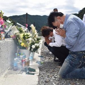 九州豪雨 「球磨川の母」追悼 全国のアユ釣り客集まり 熊本・球磨村