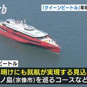 大型ビートル、国内就航へ 博多-釜山運休、コロナで特例転用