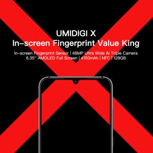 UMIDIGI Xの対応バンド、スペックの詳細など