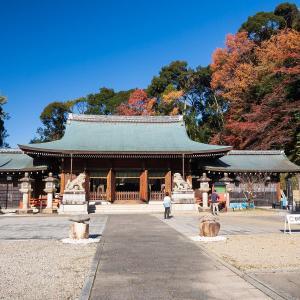 2019年紅葉の京都・京都霊山護国神社の壁紙(計26枚)