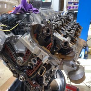 エンジンのバランスシャフト交換