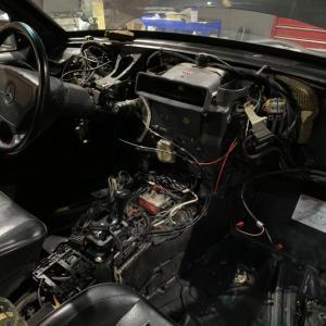 W124  500Eの復活修理