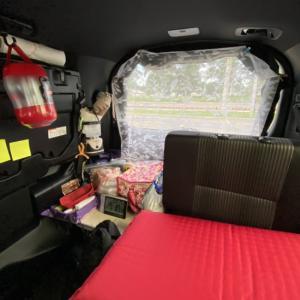 車中泊+miniソロキャンプの旅2